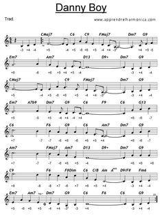 Danny Boy - Harmonica C