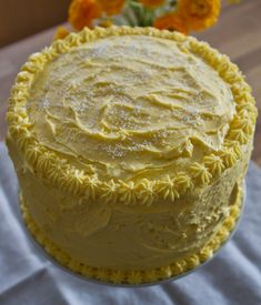 Lemon Buttercream Frosting Recipe with Coconut Oil