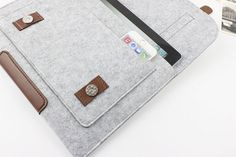 felt Macbook Air 11.6 sleeve Macbook 11.6 case Macbook by FeltSJie