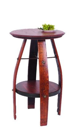 Bistro table made from a wine barrel Mas Casa