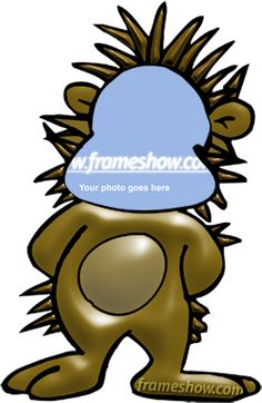 Funny Lion Photo Frame. Add your face photo to see yourself as a funny lion.