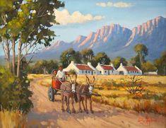 Willie Strydom - Donkey Cart - 450 x 350