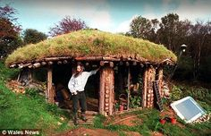 Secret eco-village tribe living off the grid in wales , page 1