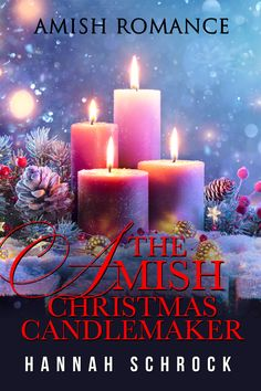 Will an Amish candlemaker find love with a carpenter or trouble with a traveling writer this Christmas? The new Amish Romance bestseller from Hannah Schrock. Just 99cents or Free with Kindle Unlimited. #kindleunlimited #amishromance #romancebooks #cleanromancebooks #christianromance I Love Books, New Books, Books To Read, This Book, Amish Books, I Love Reading, Book Authors, Romance Books, Book Club Books