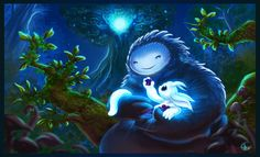 Ori and the Blind Forest fan art by leksbronks on @DeviantArt