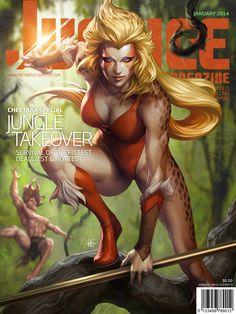 Stanley Lau -- Justice Magazine -- Cheetara