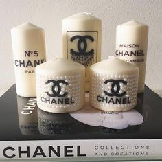 Best Scented Candles for Your Home - Luxury Candles to Give as Gifts Luxury Candles, Diy Candles, Scented Candles, Decorative Candles, Chanel Birthday Party, Chanel Party, Chanel Bedroom, Chai Tea Recipe, Chanel Decor