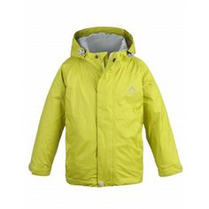 K-Way's Drizzle is a taffeta rain jacket with a PU milky coating. The shell is waterproof, windproof and seam sealed, and is lined with mesh for added vapour permeability. An adjustable hem, cuffs and hood keep cold air out, ensuring you stay warm. The jacket is packable into the pocket, converting it into a bum bag for easy transport.