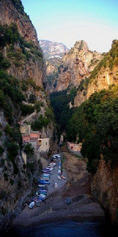 Furore - Province of Naples , Campania region, Italy