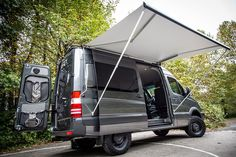 Get Lost With This Insanely Cool Custom Mercedes Sprinter Van Mercedes Sprinter Camper, Sprinter Van Conversion, Benz Sprinter, Camper Conversion, Motorhome, 4x4 Camper Van, Custom Mercedes, Kangoo Camper, Class B Rv