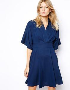 Bild 1 von Love – Kurzkleid mit Kimono-Ärmeln