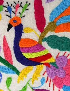Multicolor Otomi Pouch - Trailer Boutique