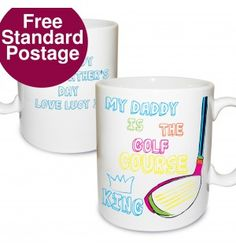 Golf Course King Mug | Mugs | Exclusively Personal