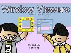 Window Viewers! Enter for your chance to win 1 of 10.  Window Viewers (21 pages) from MissLynch'sClass on TeachersNotebook.com (Ends on on 8-25-2014)  My latest product - great for all primary age groups!   Excellent as a science or literacy center!