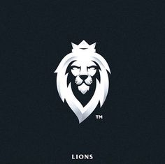 40 Likes, 0 Comments - Logo Inspiration™ Lion Head Tattoos, Lion Tattoo, Logo Lion, Leader Logo, Lion Images, Bike Tattoos, Game Logo Design, Lion Design, Lion Art