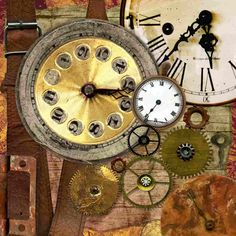A bunch of art therapy exercises and activities inspired by Russian art therapist and psychologist Victoria Nazarevich. Art Therapy Projects, Art Therapy Activities, Therapy Ideas, Art Therapy Benefits, What Is Art Therapy, Steampunk Kunst, Relaxing Art, Clock Parts, Old Clocks