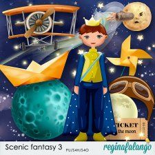 Scenic fantasy 3 by reginafalango #CUdigitals cudigitals.comcu commercialdigitalscrapscrapbookgraphics #digiscrap