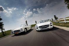300 SL & SLS AMG: Perfect Roadsters by Rafał Andrzejewski, via Behance