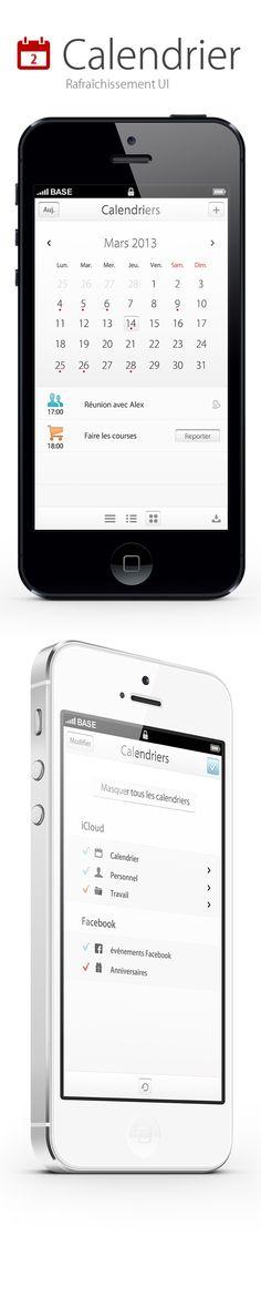 Calender Ui, Calendar Widget, Mobile App Design, Mobile Ui, Ux Design, Graphic Design, Iphone Ui, Tablet Ui, Ui Patterns