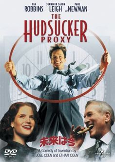 The Hudsucker Proxy. The best thing the Coen brothers ever created.