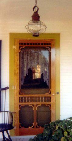Victorian Screen Amp Storm Door Estate Model Www