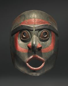 Bella Bella or Haisla Mask, PNW Coast Tribe