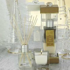 Luster Reed Diffuser Set with Winter Frost Scented Oil by Zodax by Zodax. $29.99. Oil Fragrance: Winter FrostOil Volume: 6.8 fluid ounces (200 ml). Includes 12- 12 reeds. Clear glass holder with stainless steel cap. The Luster Reed Diffuser Set creates a subtle fragrance that captures the feel and mood of a lovely Winter Frost. The clear glass holder is accented with stainless steel to give the set a subtle yet beautiful appearance. The set includes the holder, 12- 12 reed...