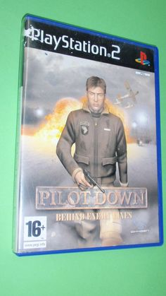 Juego Para Consola PS2 Play Station 2 Playstation - Pilot Down Behind Enemy Line