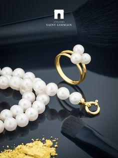 Ateliers Saint Germain - Jewels Made In France - Chic Fashion - Real Freshwater Pearls -