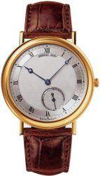 Breguet Classique Silver Dial Automatic 18kt Rose Gold Watch ~ http://vintagewatchesdepot.com