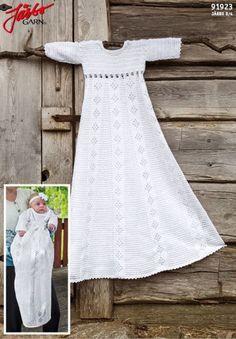 Crochet Baby, Knit Crochet, Blessing Dress, Baby Barn, Baby Dress, Baptism Dress Baby, Chrochet, Baby Sewing, Christening