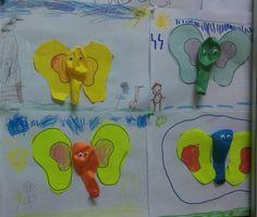 Elephant craft ideas for preschool | funnycrafts