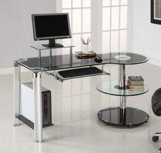 2019 Glass Work Desk - Diy Wall Mounted Desk Check more at http://michael-malarkey.com/glass-work-desk/