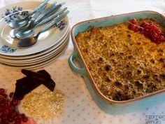 7gramas de ternura: Crumble de Aveia, Frutas e Chocolate