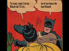 Batman s'en fout du Klout