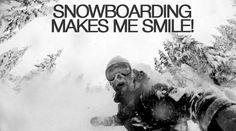 Snowboarding Makes Me Smile https://www.facebook.com/adrenalineadventurestravel