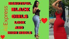 Beautiful Black Girl, Girls Wear, Black Girls, Peep Toe, High Heels, Sexy, Youtube, How To Wear, Clothes