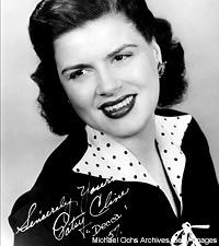Patsy Cline (September 8, 1932 – March 5, 1963), born Virginia Patterson Hensley in Gore, Virginia, was an American country music singer who was successful