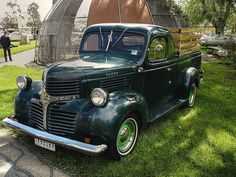 1947 Dodge Pickup Truck    Dream car... if only it was a Chevy..