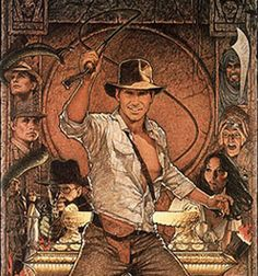 Indiana Jones - The Raiders of the Lost Ark comes a close second to Last Crusade for me. It's the first Indiana Jones movie I saw and I always enjoy a rewatch every so often.