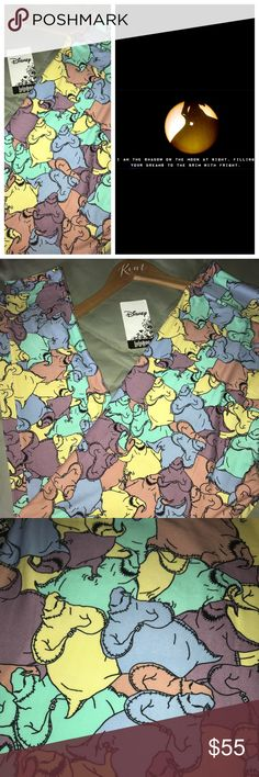 """LuLaRoe TC2 NBC Oogie Boogie Disney Leggings  The LuLaRoe Nightmare Before Christmas Collection just launched, it was INSANE! I've never seen a collection sell out, and for good reason! These Oogie Boogie TC2 Leggings are SO FUN, I'm obsessed with the """"pastel-ish"""" color-way. He really stands out! Light tones of blue, yellow, green, purple & peach. Entire body/features outlined in black. Photos show colors w/ and w/out flash. Check out my other fabulous LuLaRoe listings! REMEMBER- Disney…"""
