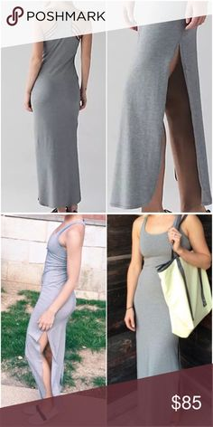 NWT LULULEMON REFRESH MAXI DRESS GRAY -- Size 8 Brand: Lululemon Athletica Refresh Maxi Dress || Heather Gray  Condition: New with tag || Size 8📍PRICE FIRM   🚩NO TRADES  🚩NO LOWBALL OFFERS  🚩NO RUDE COMMENTS  🚩NO MODELING  ☀️Please don't discuss prices in the comment box. Make a reasonable offer and I'll either counter, accept or decline.   I will try to respond to all inquiries in a timely manner. Please check out the rest of my closet, I have various brands. Some new with tag, others…