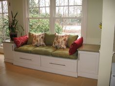 kitchen tables with bench seating | Kitchen Photos Window Seat Design Ideas, Pictures, Remodel, and Decor ...
