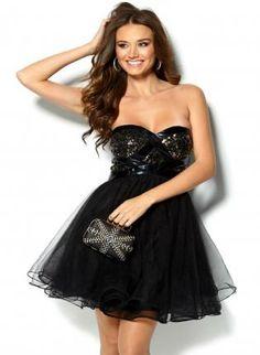 Black Strapless Dress Petite Robe Noire, Robes De Bal, Robe Pour Bal De Fin 4a03c00e7e5d