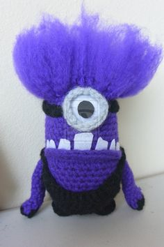 Despicable Me 2 Evil Minion (crochet) by lillybearbutt.deviantart.com on @deviantART