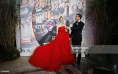 Pierre Casiraghi and Beatrice Borromeo - Casiraghi arrive for the annual Rose Ball at the Monte-Carlo Sporting Club in Monaco, on March 19, 2016. The Rose Ball is one of the major charity events in Monaco. Created in 1954, it benefits the Princess Grace Foundation.  / AFP / VALERY HACHE        (Photo credit should read VALERY HACHE/AFP/Getty Images)