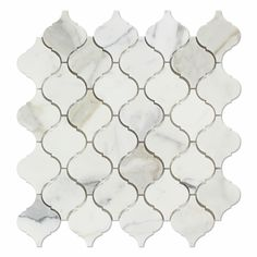 Buy Calacatta Gold Marble Polished Lantern Arabesque Mosaic Tile Sample Product Attributes - Item: Premium (SELECT) Quality Italian Calacatta Gold Marble POLISHED LANTERN ARABESQUE (MOROCCAN DESIGN) M