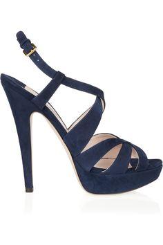 I want navy heels.