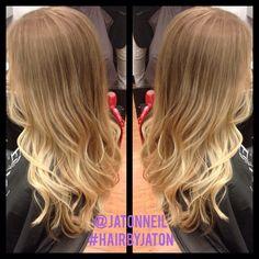 Fall blonde. #davines