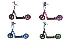 Groupon - One or Two Children's Stunt Kick Scooters. Kids Scooter, Rear Brakes, Second Child, Stunts, Scooters, Kicks, Metal, Cheer Stunts, Second Baby